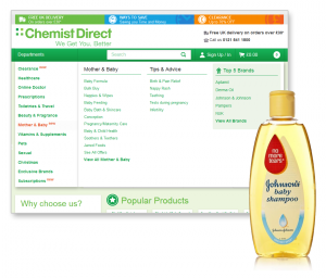 Chemist Direct Mother & Baby Example