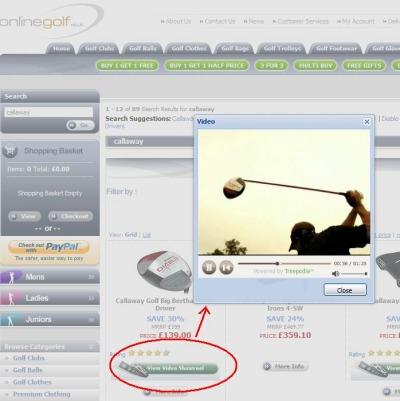 Online Golf Video