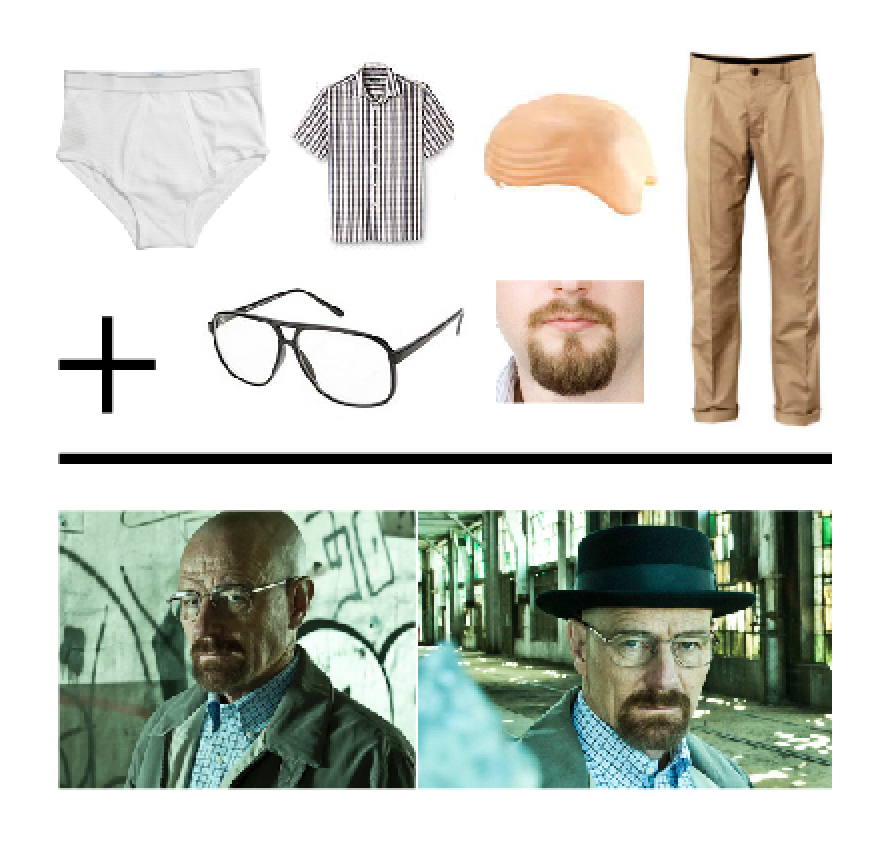 breaking bad costume components