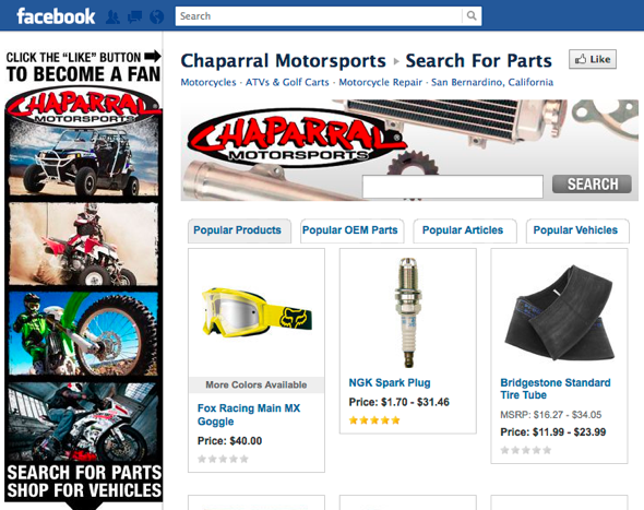 Chaparral Motorsports Motorcycles
