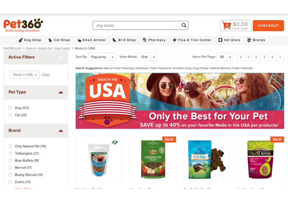 SLI Learning Search Experience with Merchandizing for Magento