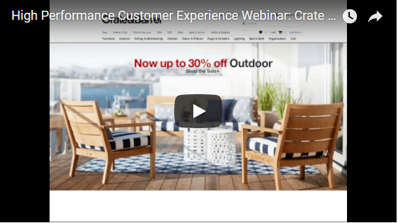 Customer Experience Webinar - Crate & Barrel Interview