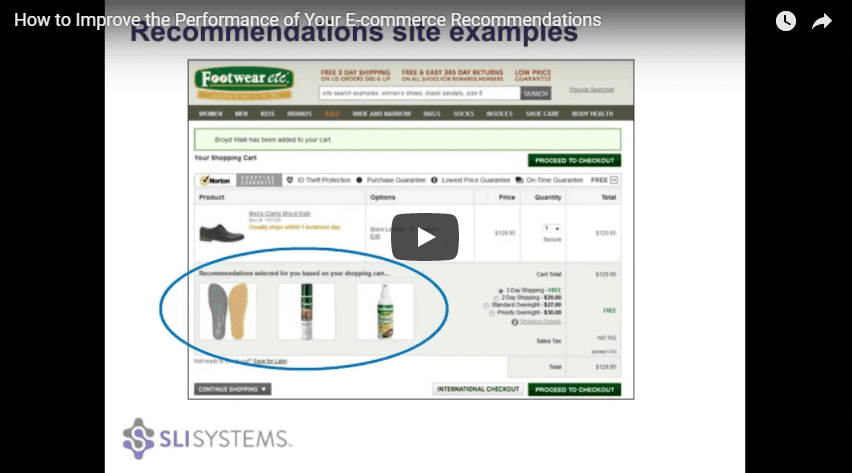 Ecommerce Product Recommendations Tips Video - SLI Systems
