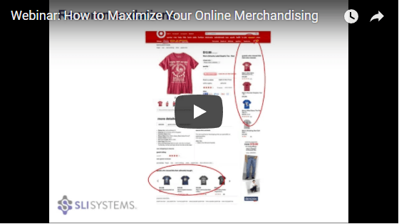 Online Merchandising Webinar - SLI Systems