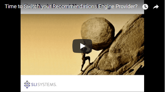 Recommendation Engine Webinar - SLI Systems with Bob Angus and Justin Smith