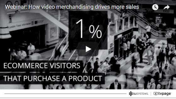 Video Merchandising Webinar - SLI Systems & TVPage