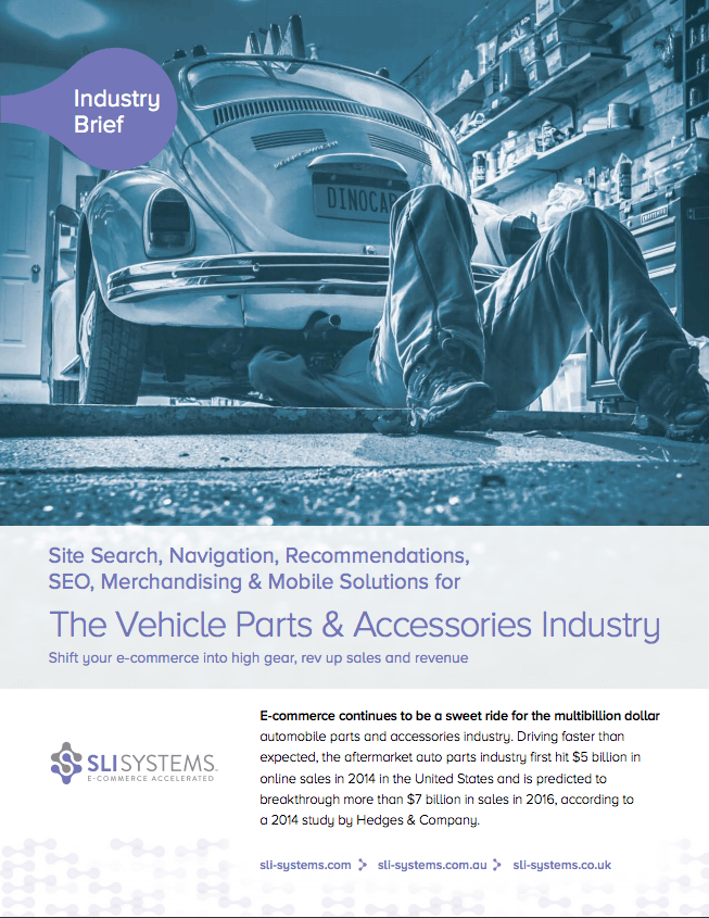 The Vehicle Parts & Accessories Industry