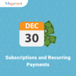ecommerce subscription magento extension - magenest subscriptions recurring payments
