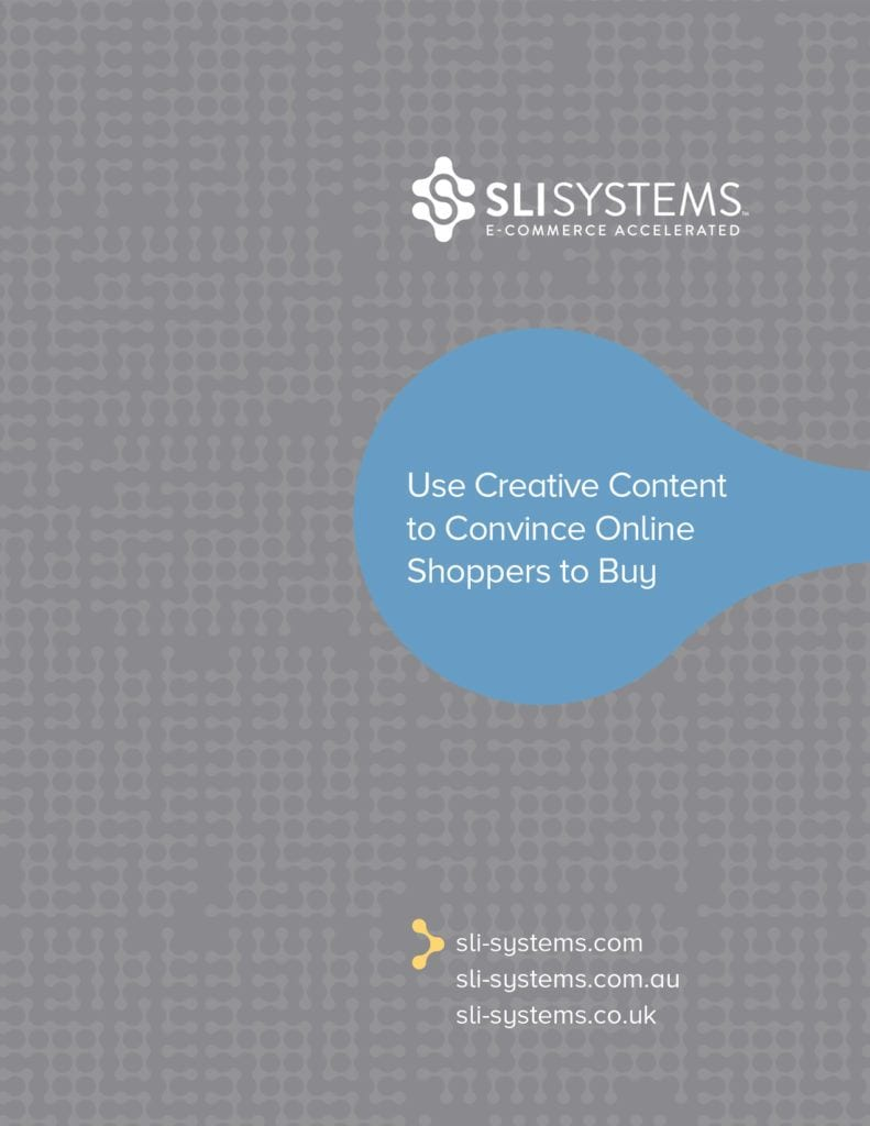 Ecommerce Content Marketing ebook