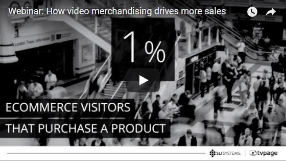 Video Merchandising Webinar - SLI Systems & TVPage