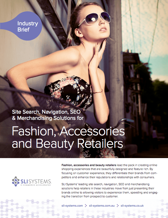 Fashion, Accessories, and Beauty