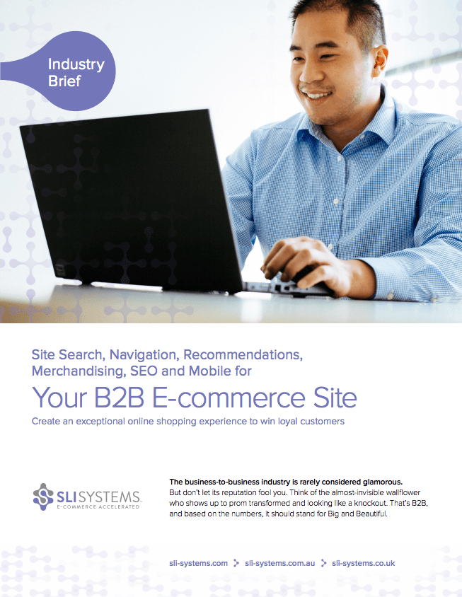 Your B2B E-Commerce Site