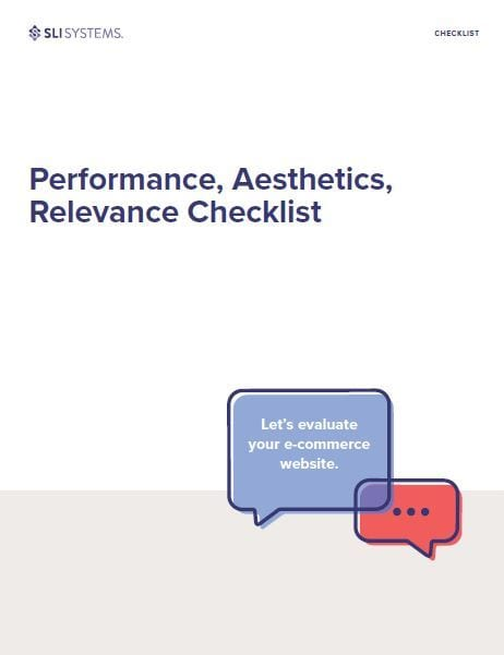 Performance, Aesthetics, Relevance Checklist